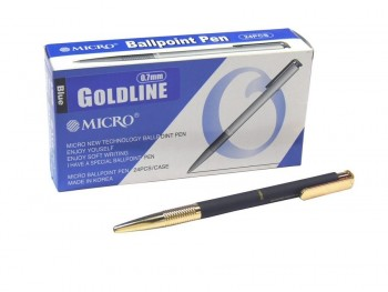 CAJA 24 BOLIGRAFOS MICRO GOLDLINE